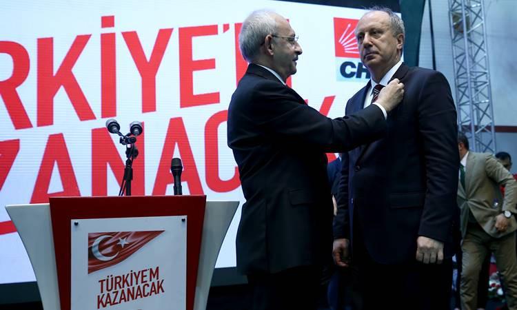 CHP'nin adayı İnce: Herkesin cumhurbaşkanı olacağım