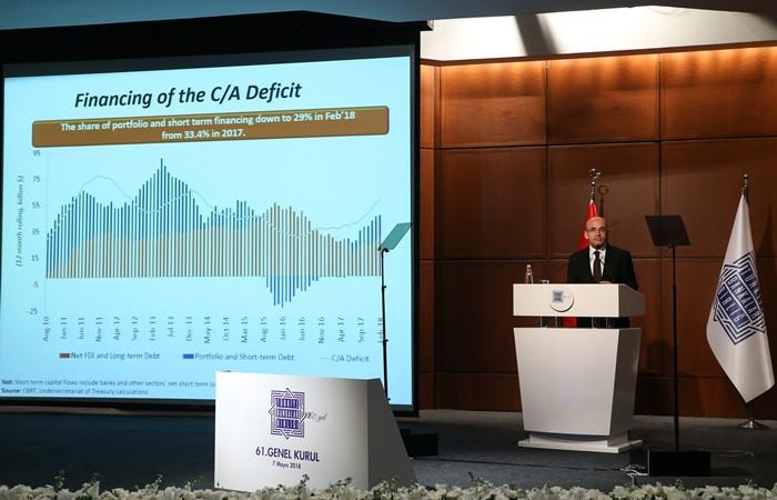 Şimşek: Maliye politikasına ilişkin kaygılar yersiz