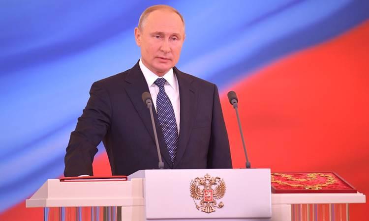 Putin, 4. kez devlet başkanlığı görevine başladı