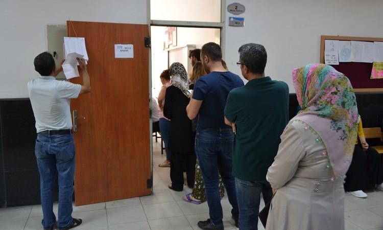Türkiye'den 'seçim' kareleri