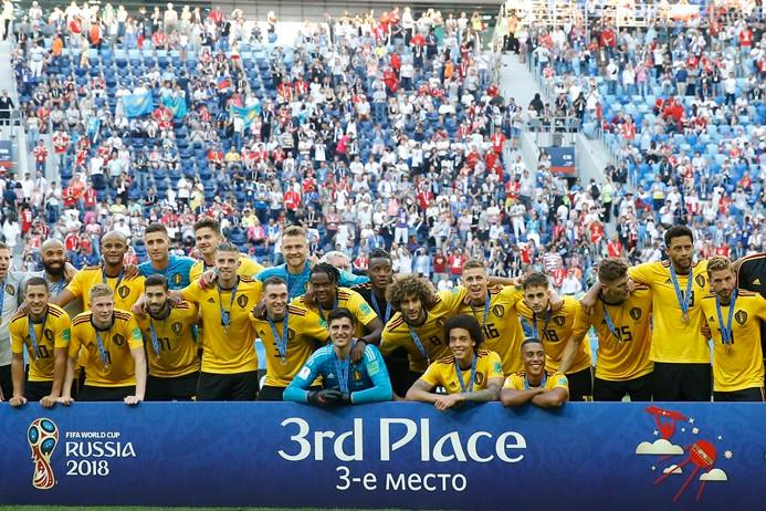 Belçika, dünya üçüncüsü oldu