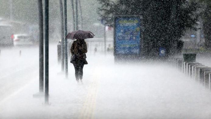 Meteoroloji'den şiddetli yağış ve sel uyarısı
