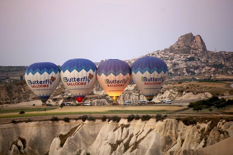 Balonlar 6 ayda 226 bin kişiyi uçurdu
