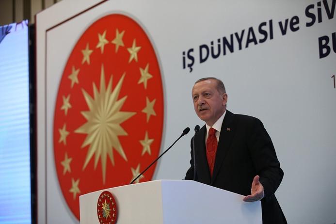 Erdoğan'dan sanayicilere uyarı: Döviz alma yoluna gitmeyin