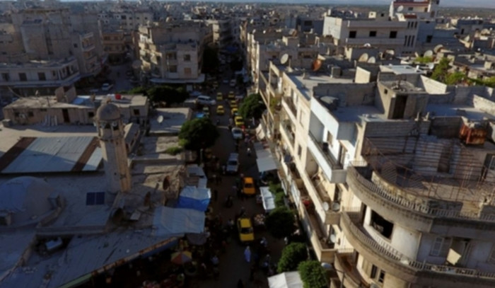 Suriye ordusu İdlib'i yine vurdu