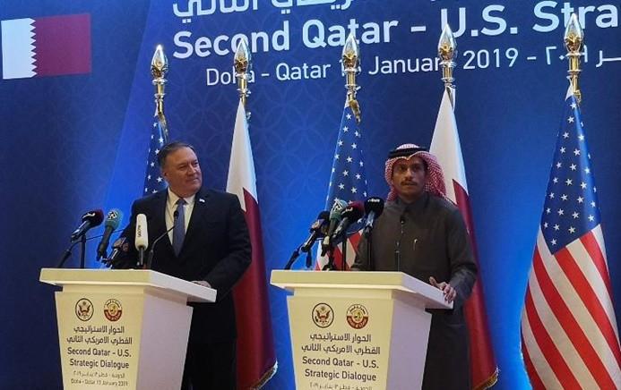 Pompeo: Katar'daki askeri varlığımızı artırıyoruz