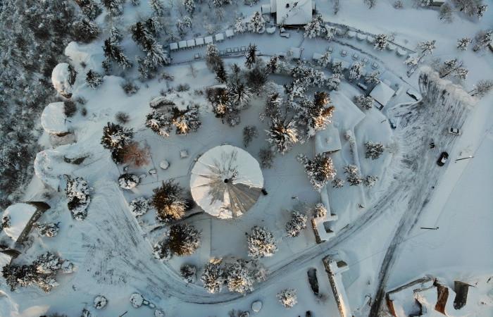 Kütahya, karlar altında bambaşka bir görünüme kavuştu