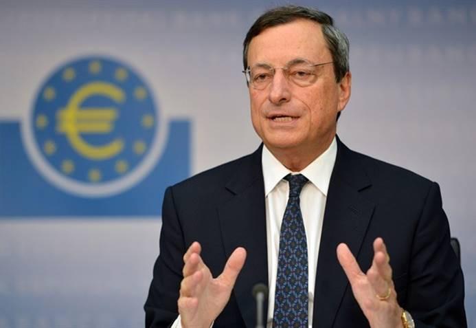 Draghi: Euro Bölgesi'nde resesyon olasılığı düşük