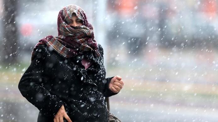 Meteorolojiden kuvvetli kar ve fırtına uyarısı