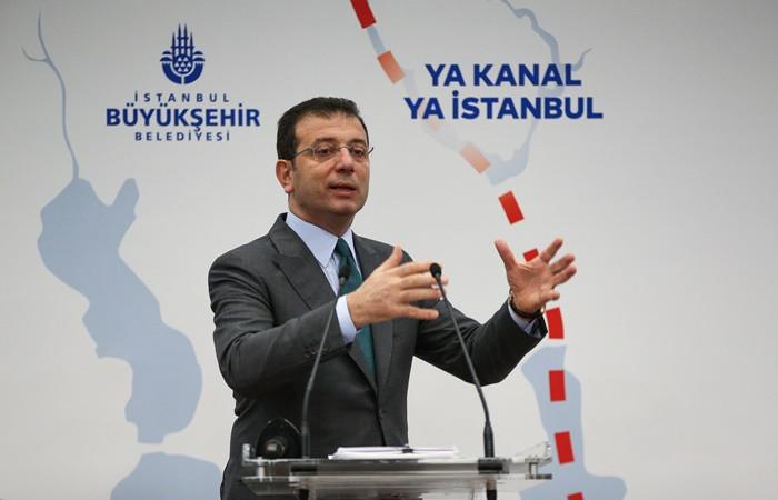 İmamoğlu: Kanal İstanbul Protokolü meclis kararı olmadan imzalandı, iptal yetkim dahilinde