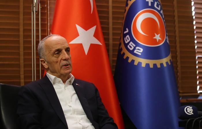 Türk-İş Genel Başkanı Atalay: Yeni asgari ücretin kabul edilebilir tarafı yok