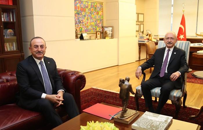 Bakan Çavuşoğlu Kılıçdaroğlu'nu 'Libya tezkeresi' hakkında bilgilendirdi