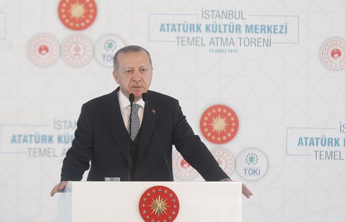 Erdoğan: AKM'yi 2 yılda bitireceğiz