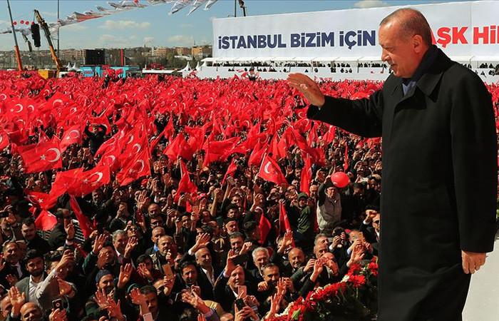 Cumhur İttifakı'nın İstanbul mitingi bitti