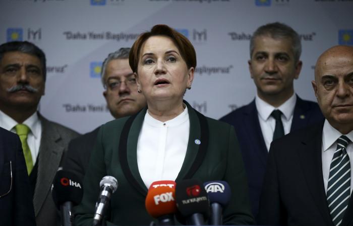 Akşener: İstanbul'da yanlışlık yapılamaz