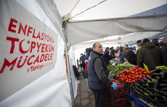 Enflasyon şubatta beklentinin altında