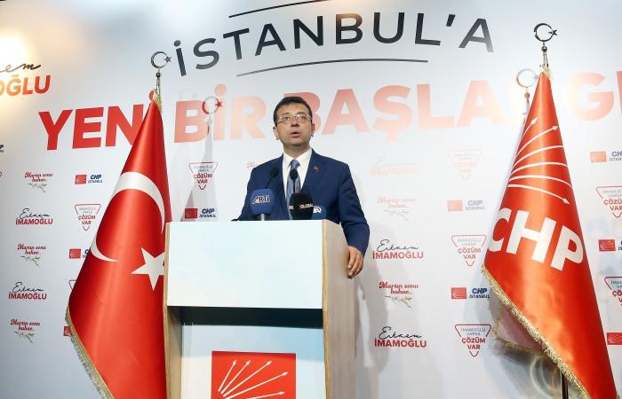İmamoğlu'ndan Cumhurbaşkanı Erdoğan'a çağrı
