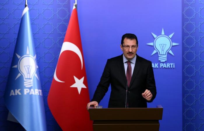 AK Parti seçimin iptalini istedi