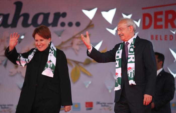 Kılıçdaroğlu ve Akşener'den ortak basın açıklaması