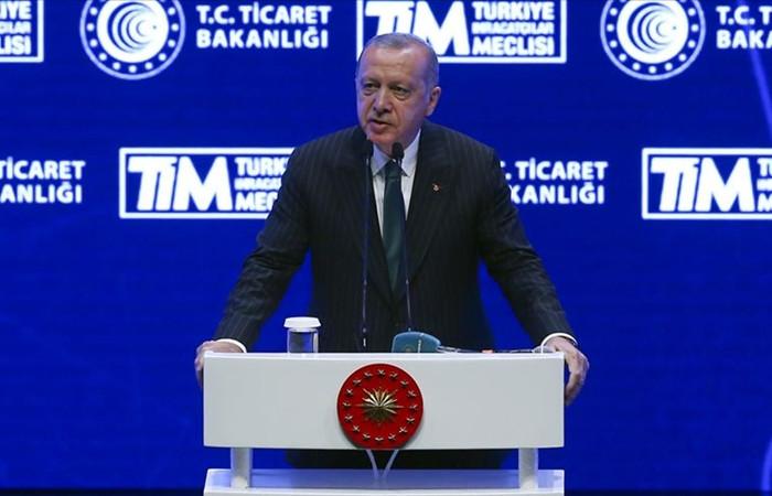 Erdoğan: İhracatımız yüzde 5,4 artarak 15 milyar dolara ulaştı