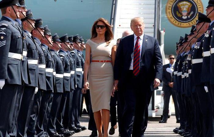 Trump'ın tartışmalı İngiltere ziyareti başlıyor