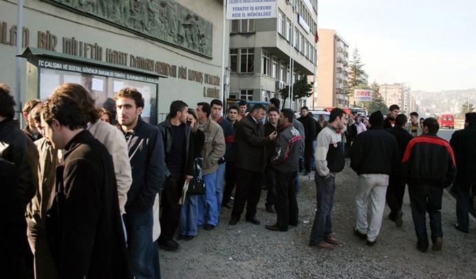 İşsizlik oranı haziranda yüzde 13