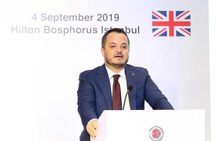 Ermut: İngiliz yatırımcıları Türkiye'ye yatırım yapmaya davet ediyoruz