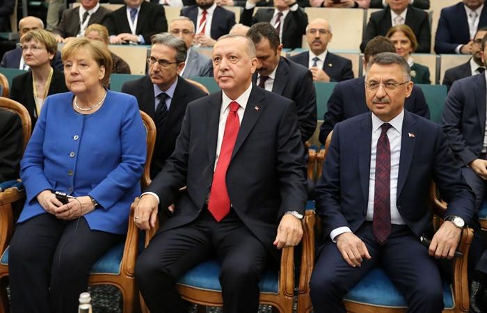 """""""Türk ve Alman dostluğunun sembolü haline gelmesini diliyorum"""""""
