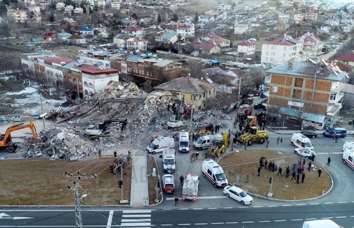 AFAD: Elazığ'da 401 adet artçı deprem meydana geldi