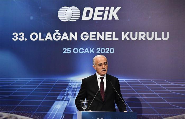 DEİK, Nail Olpak'la devam ediyor