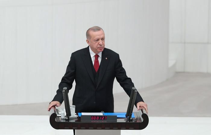 Erdoğan: Ermenistan yönetimini Türkiye'ye iftira atma gayreti de kurtaramayacak