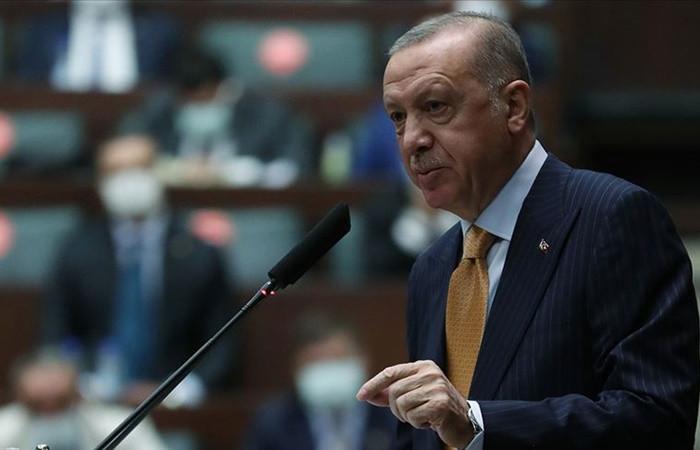 Cumhurbaşkanı Erdoğan'dan karikatür tepkisi