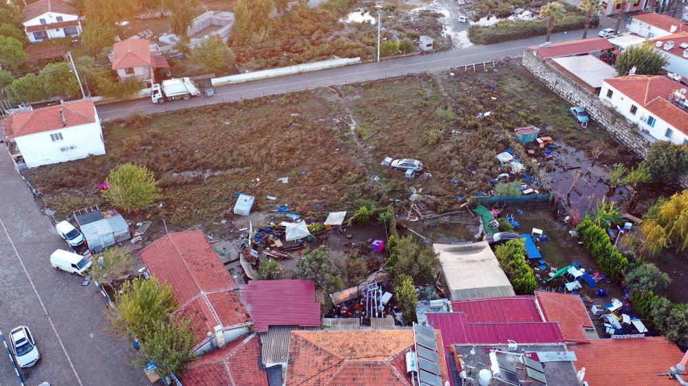İzmir'deki depremin merkez üssü Seferihisar havadan görüntülendi - Sayfa 2