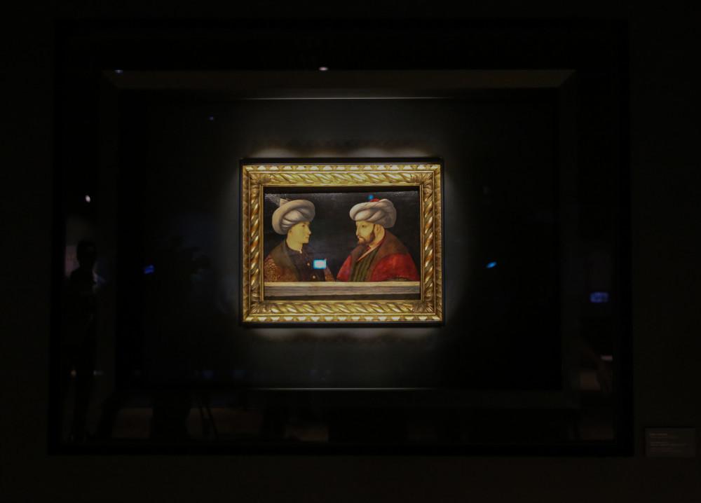 Fatih'in portresi İstanbul'un kurtuluşunun 97. yıl dönümünde sergide