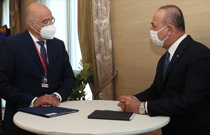Bakan Çavuşoğlu: Türkiye-Yunanistan istikşafi görüşmelerin yapılmasında anlaştı