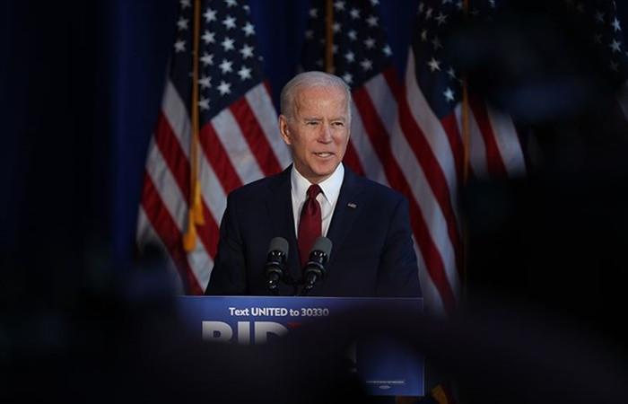 ABD başkan adayı Joe Biden: 300 delegeye ulaşma yolunda ilerliyoruz