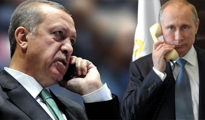 Erdoğan ve Putin'den 'İdlib' görüşmesi