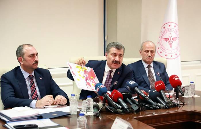 Türkiye'de vaka sayısı 5'e yükseldi