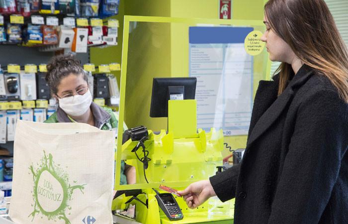 CarrefourSA'dan koronavirüs önlemleri