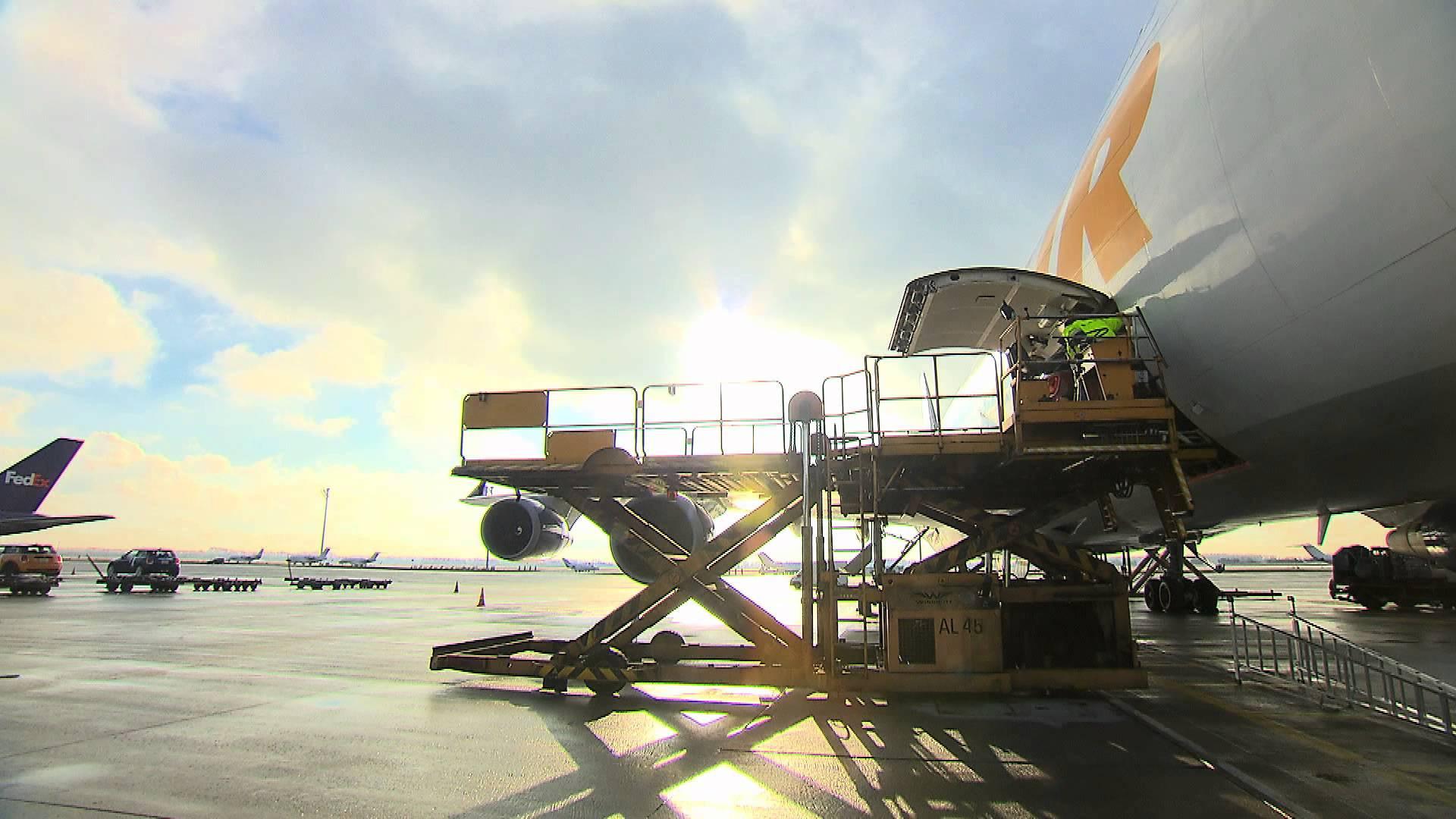 Yeni havaalanından ilk hava kargo yüklemesi ATA'dan