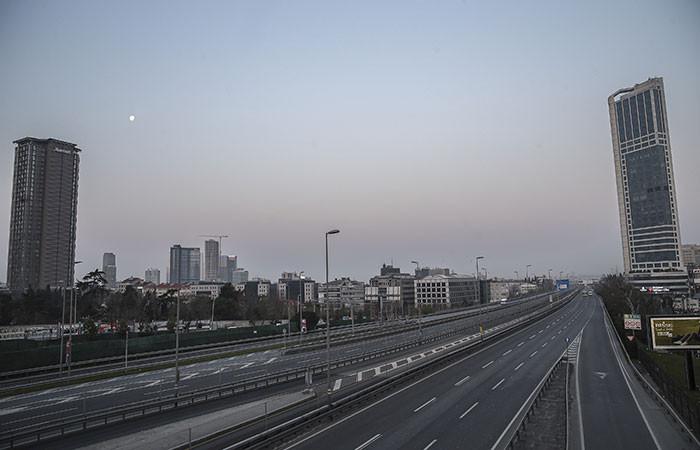 Sokağa çıkma yasağı sonrası İstanbul'dan kareler - Sayfa 1