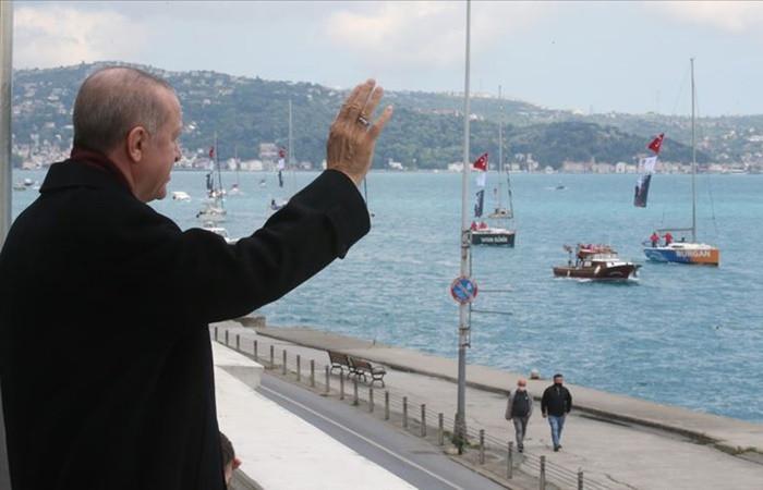 Cumhurbaşkanı Erdoğan'dan İstanbul'un fethi paylaşımı
