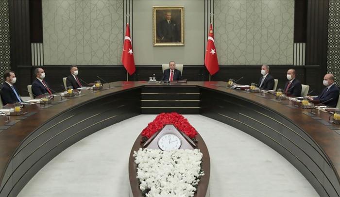 Yüksek Askeri Şura toplantısı yapıldı