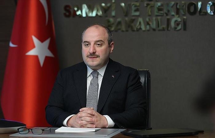 Sanayi ve Teknoloji Bakanı Varank'tan doğal gaz rezervi keşfi değerlendirmesi