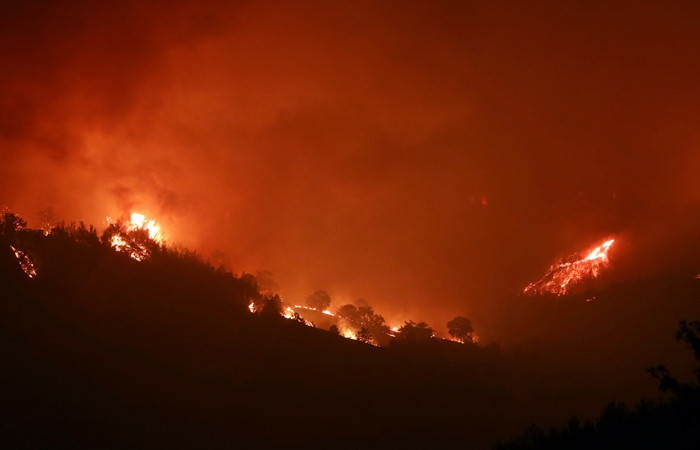 Adana'da orman yangını: 6 köy boşaltıldı