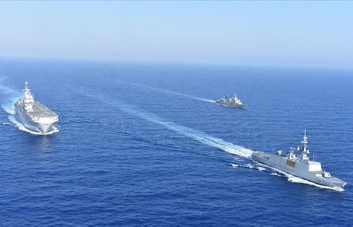 Doğu Akdeniz'de tatbikat kararı: Fransa da katılıyor