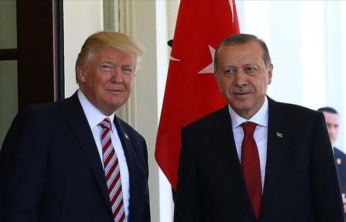 Erdoğan ile Trump 'Doğu Akdeniz'i görüştü