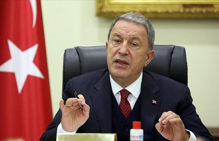 Bakan Akar: Doğu Akdeniz'de diyalogdan yanayız