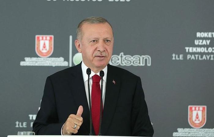Cumhurbaşkanı Erdoğan: Artık milli teknolojilerle uzay ligindeyiz