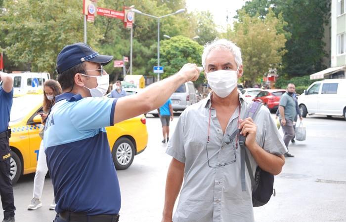 İstanbul'da COVID-19 tedbirleri denetimi